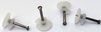 Haczyki do obrazów 1000 sztuk - Z1 - gwóździe z haczykiem plastikowym