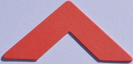 3040 China Red Passe-Partout (paspartu) karton dekoracyjny Slater Harrison