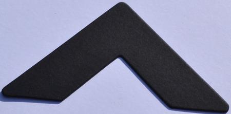 Colourmount 472 Solid Black Passe-Partout (paspartu) karton dekoracyjny Slater Harrison