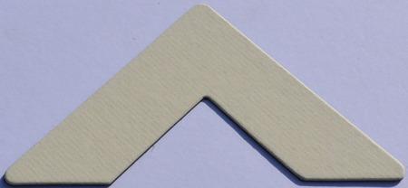 Colourmount 486 Cream Ingres Passe-Partout (paspartu) karton dekoracyjny Slater Harrison