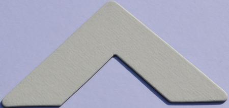 Colourmount 487 White Ingres Passe-Partout (paspartu) karton dekoracyjny Slater Harrison