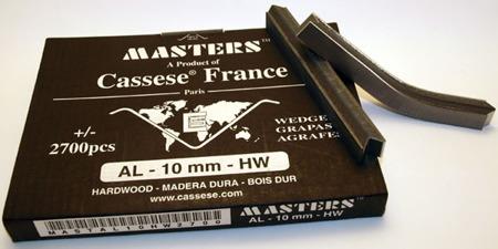 S12XS - Klamry AL 10mm do twardego drewna firmy Cassese