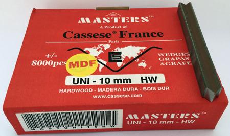 S20MDF - Klamry UNI 10 mm  do MDF firmy Cassese