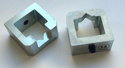 Z25500 - Magazynek klamer Cassese UNI 15mm