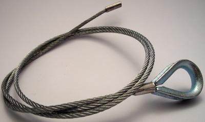 Z3556 - Linka stalowa do łączarek Cassese