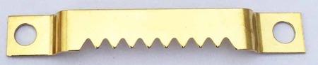 Zestaw 1000 sztuk - ZK17 Zawieszka ząbkowana na wkręty
